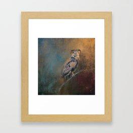 One Eye On You Framed Art Print