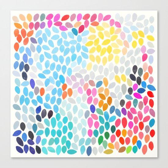 rain 9 Canvas Print