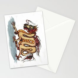 Draca sinensis (clean version) Stationery Cards