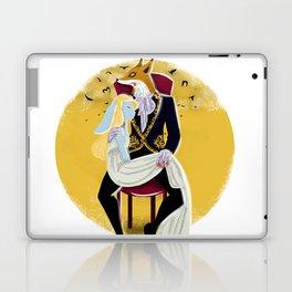 Mr Fox and Miss Rabbit Laptop & iPad Skin