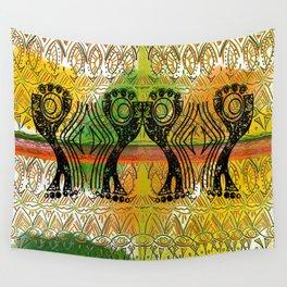 AfroCari Rejoice 1 Wall Tapestry