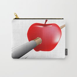 Arrow And Apple Carry-All Pouch