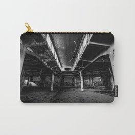 Urbex photography in a former abandoned cotton mill Carry-All Pouch