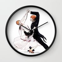 dancing Wall Clocks featuring dancing by arnedayan