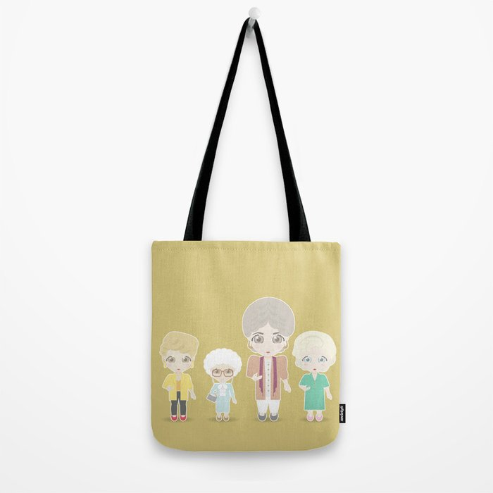 Girls in their Golden Years Tote Bag