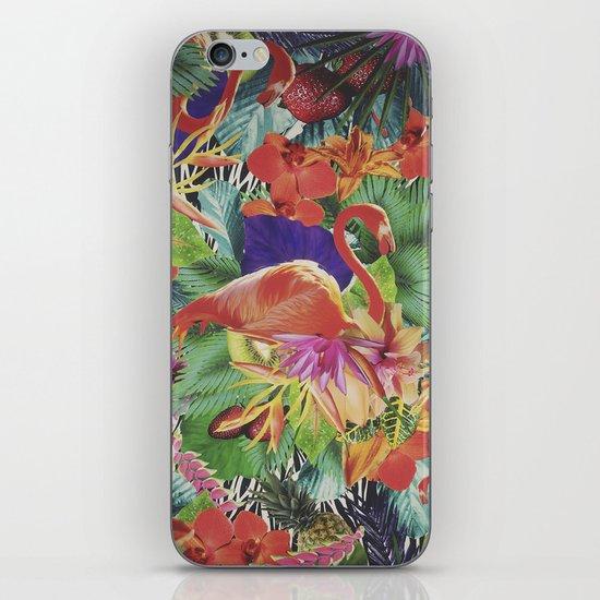 TROPICAL LOVE iPhone Skin