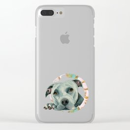 Big Ol' Head 3 Clear iPhone Case