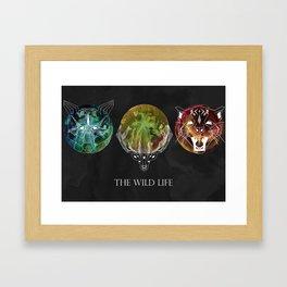 The Wild Life Framed Art Print