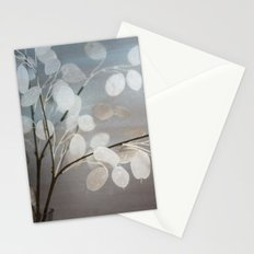 WHITE PAPER FLOWERS Stationery Cards