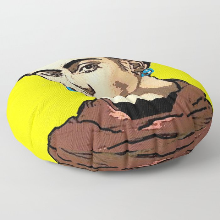 Frida Kahlo Floor Pillow