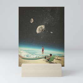 Summer with a Chance of Asteroids Mini Art Print