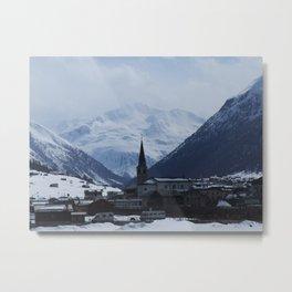 Livigno Metal Print