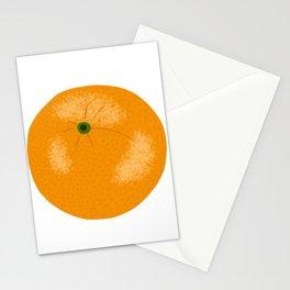 Orange Citrus Fruit Hand Drawn Stationery Cards