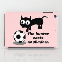 football iPad Cases featuring Cat Football by mailboxdisco