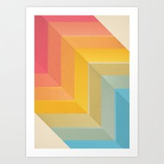 Back and Forth Art Print