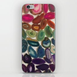 Rainbow Agates iPhone Skin