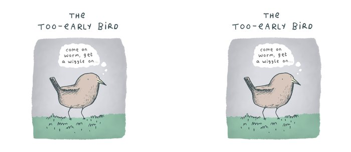 The Too-Early Bird Coffee Mug