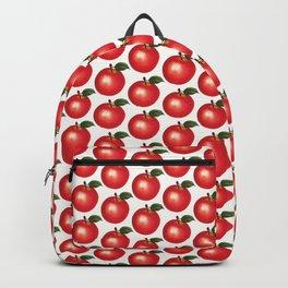 Apple Pattern Backpack