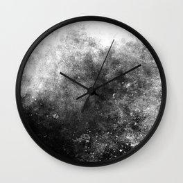 Abstract IX Wall Clock