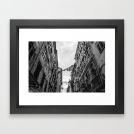 Laundry day... Framed Art Print