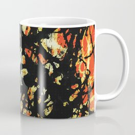Vectorised and digitally modified, Jackson Pollock style fine art decor and clothing Coffee Mug