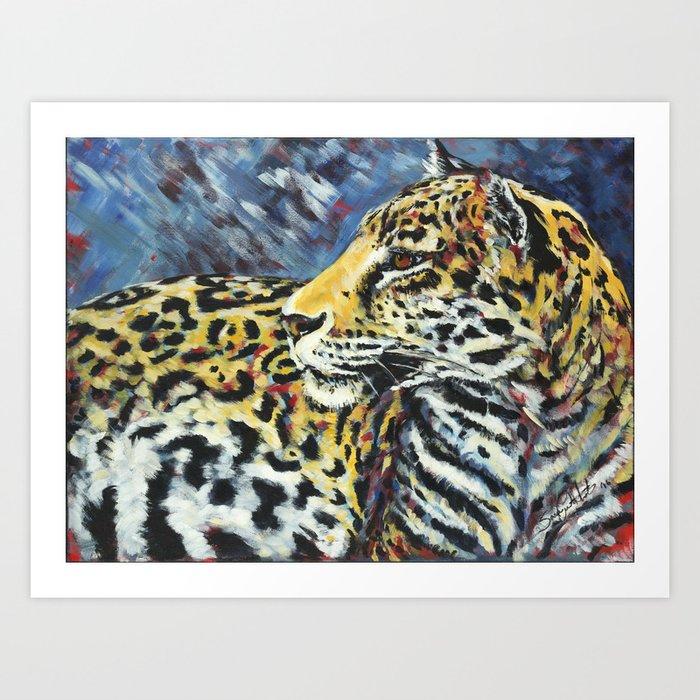 Amur Leopard Art Print