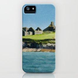 Cork Ireland Vintage Travel Poster iPhone Case