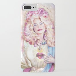Saint Dolly Parton iPhone Case