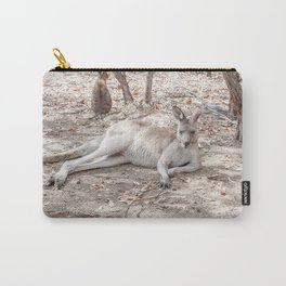 Relaxing Kangaroo, Australia Carry-All Pouch