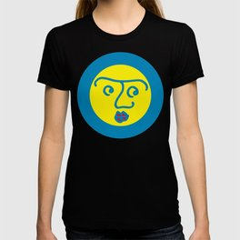 Colored Wondering Face 1 T-shirt