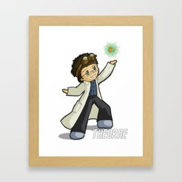 Physics Not Included Chibi Framed Art Print