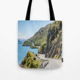 The Road to Queenstown, New Zealand Tote Bag
