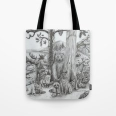 Woodland Friends Tote Bag