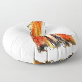 Wise Fox Reverse Floor Pillow