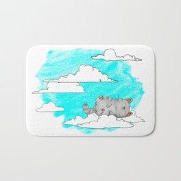 Sky Cat Bath Mat