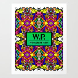WP - Widespread Panic - Psychedelic Pattern 1 Art Print