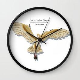Barn Owl Harpy Wall Clock