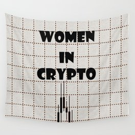 Women in Crypto Wall Tapestry
