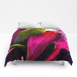 Ti Leaf Bouquet Comforters