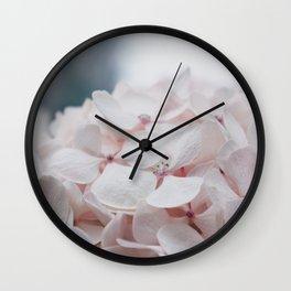 Shydrangeas Wall Clock
