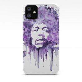 Jimi Hendrix - Purple Haze iPhone Case