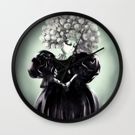 Lady Nuit Wall Clock