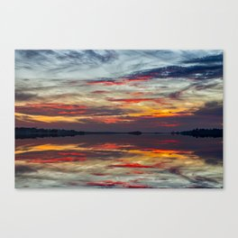 Fripp Inlet Sunset Canvas Print