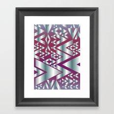 Metal Beat Framed Art Print