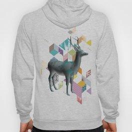 Colorful deer 3d Hoody