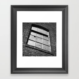 Fractured Industry Framed Art Print