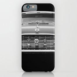 Monochrome Vauxhall Cresta iPhone Case