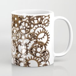 Group of brass pinions Coffee Mug