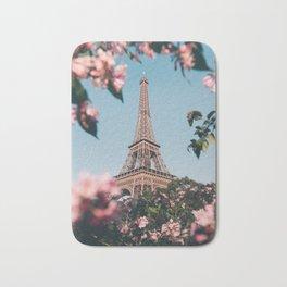 Paris in spring #society6 #decor #buyart Bath Mat