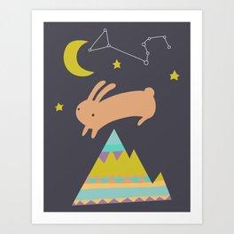 The Mountaineer Art Print